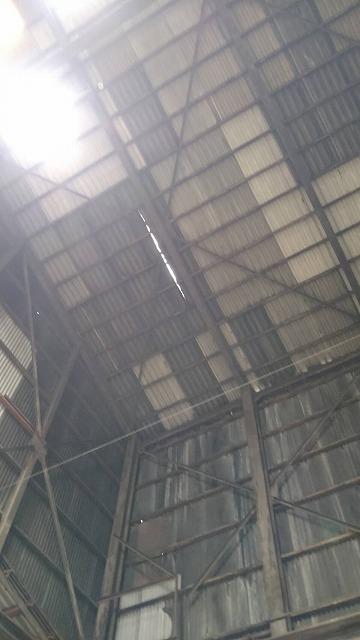 某工場の屋根点検にお伺いしました。