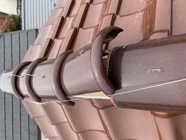 白山市で屋根の点検にお伺いしました。