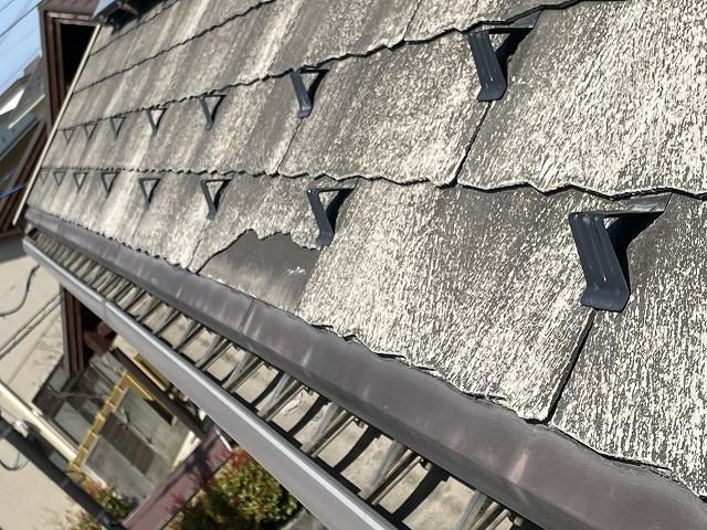 金沢市、屋根立平葺き