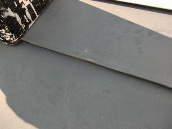 施工前の屋根の拡大