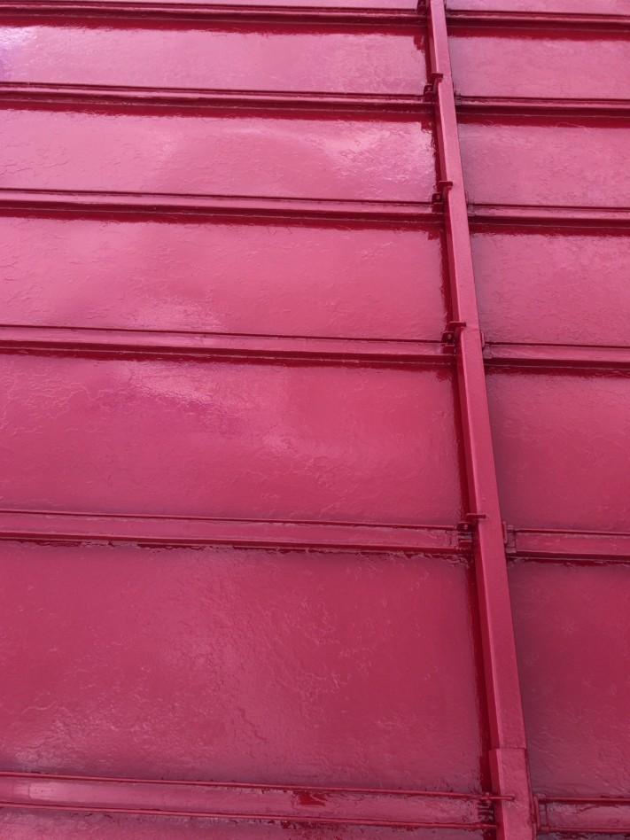 屋根塗装二度目